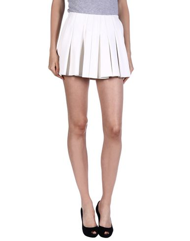 Alexander Wang Mini Skirt In White
