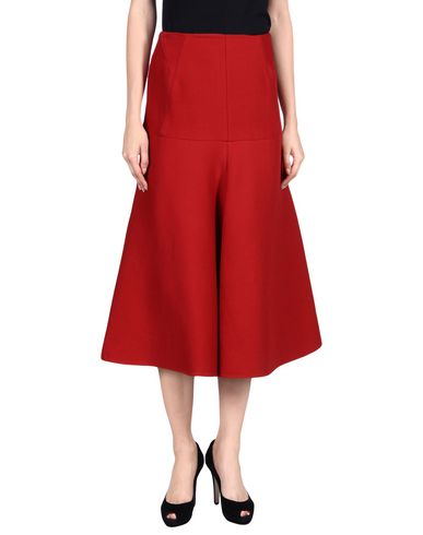 Marni 3/4 Length Skirts In Red
