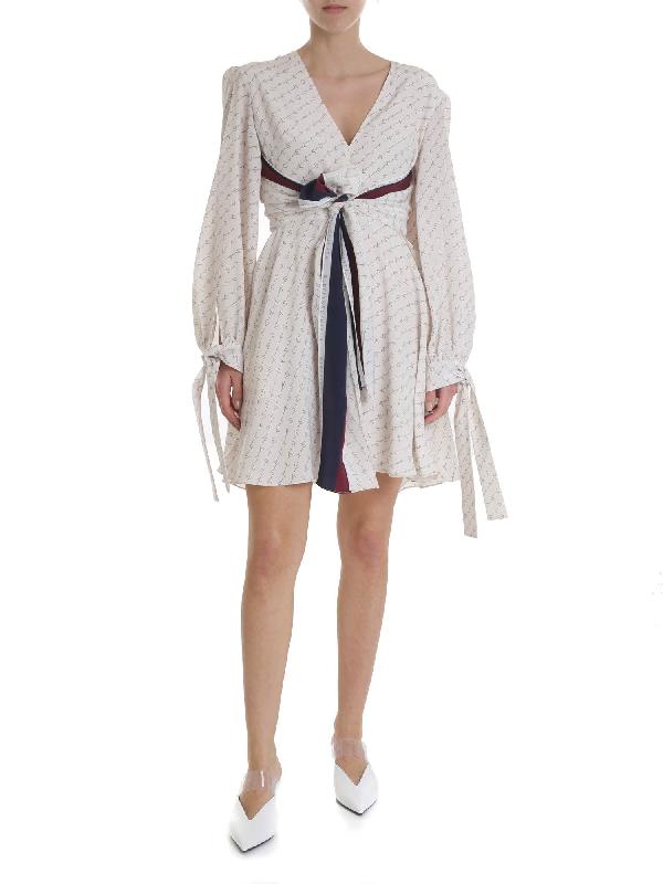 Stella Mccartney Ivory Dress In White