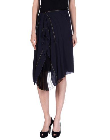 Nina Ricci Knee Length Skirt In Dark Blue