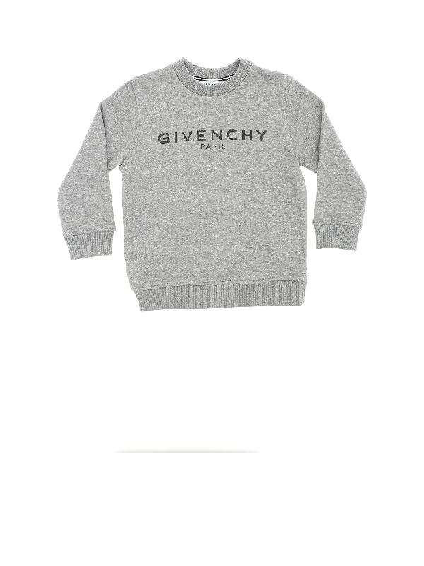 Givenchy Kids' Printed Sweatshirt In Grey