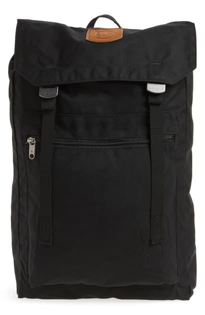 Fjall Raven Foldsack No.1 Water Resistant Backpack In Jet Black
