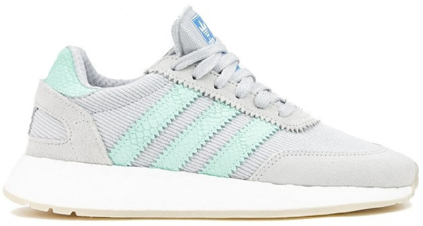 Adidas Originals Adidas I-5923 Grey Mint White (w) In Light Solid Grey/clear Mint/crystal White