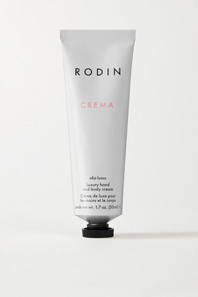 Rodin Luxury Hand And Body Cream - Geranium And Orange Blossom, 50ml In Colorless