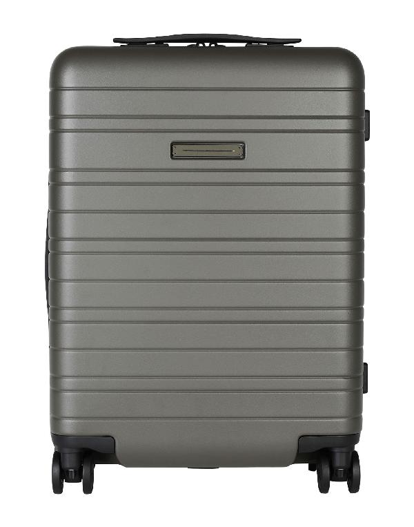 Horizn Studios Wheeled Luggage In Military Green