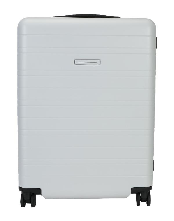 Horizn Studios Wheeled Luggage In Light Grey
