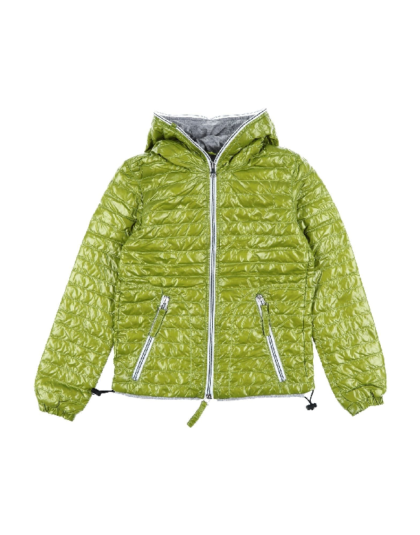 Duvetica Down Jacket In Acid Green