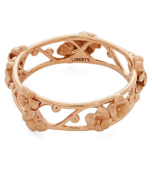 Liberty London Trellis Ring In Gold