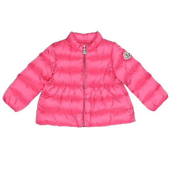Moncler Baby Joelle Down Coat In Pink