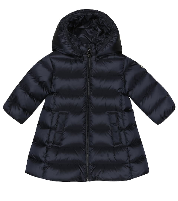 Moncler Babies' Kids Down Coat Majeure For Girls In Blue