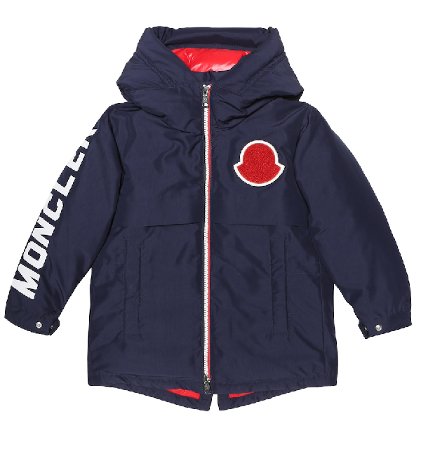 Moncler Kids' Airon Down Jacket In Blue