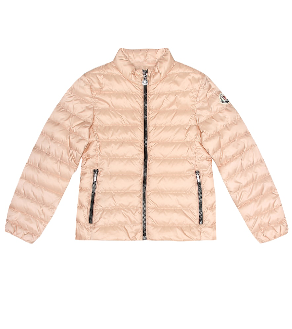 Moncler Kids' Kakura Quilted Down Jacket In Pink