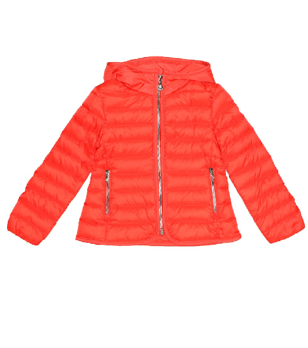 Moncler Kids' Takaroa Quilted Down Jacket In Pink