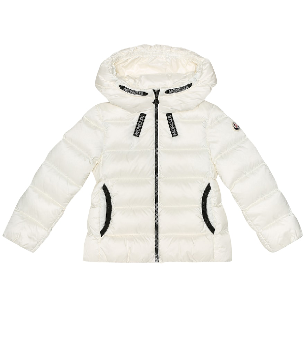 Moncler Kids' Quilted Down Jacket In White