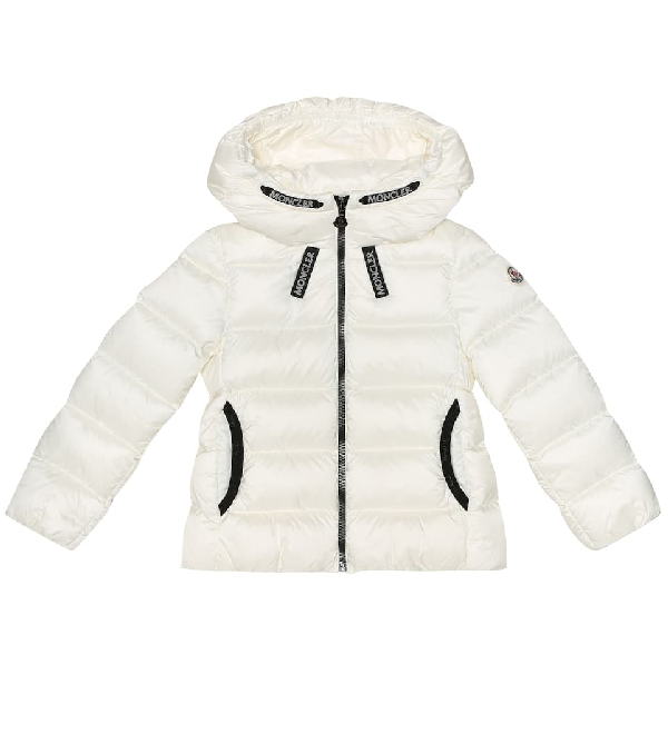 Moncler Kids' Chevril Quilted Down Jacket In White