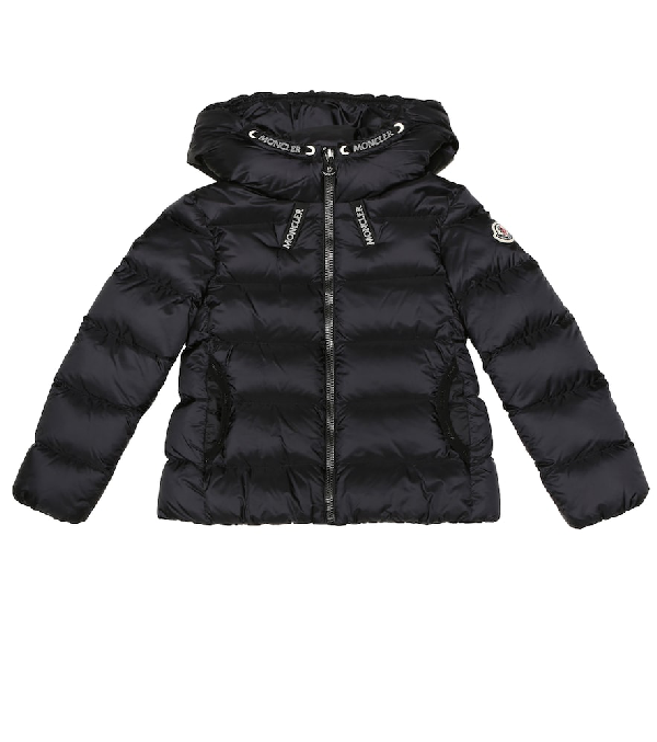 Moncler Kids' Chevril Down Jacket In Black