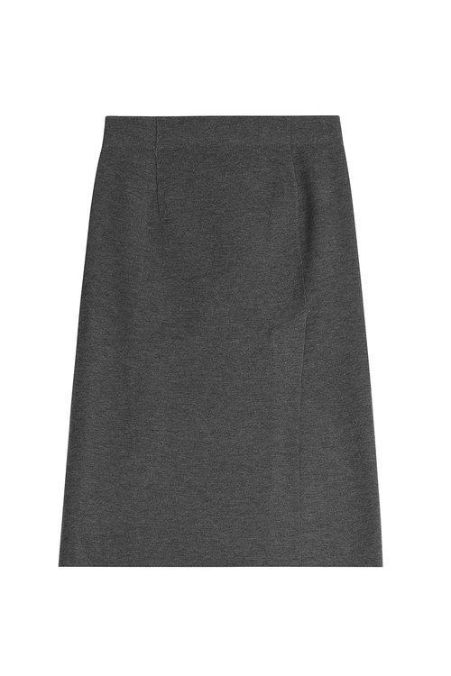 Rag & Bone Wool Pencil Skirt In Grey