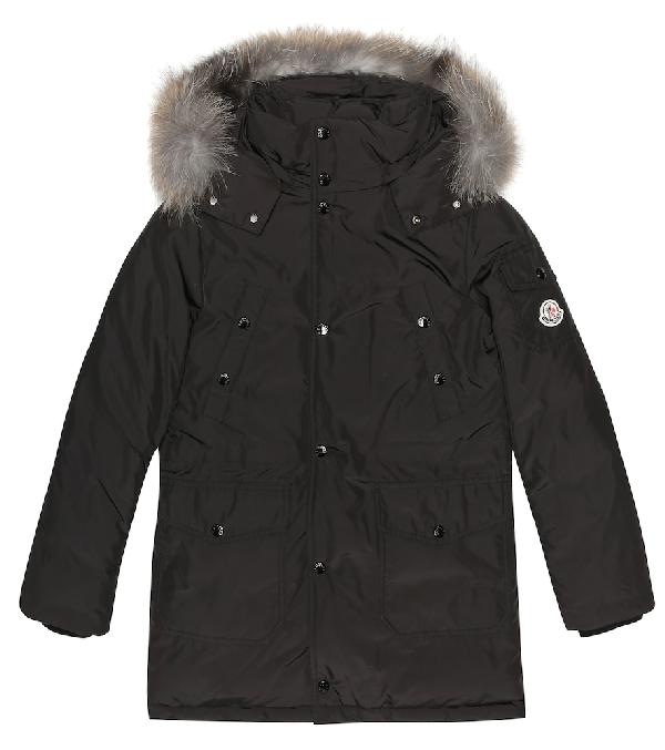 Moncler Kids' Yann Down Jacket In Black