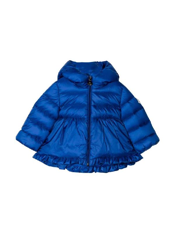 Moncler Babies' Odile Blue Girl Jacket