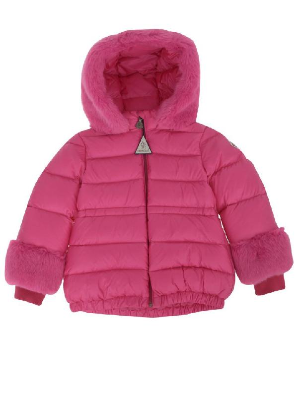 Moncler Babies' Jacket  Enfant In Pink