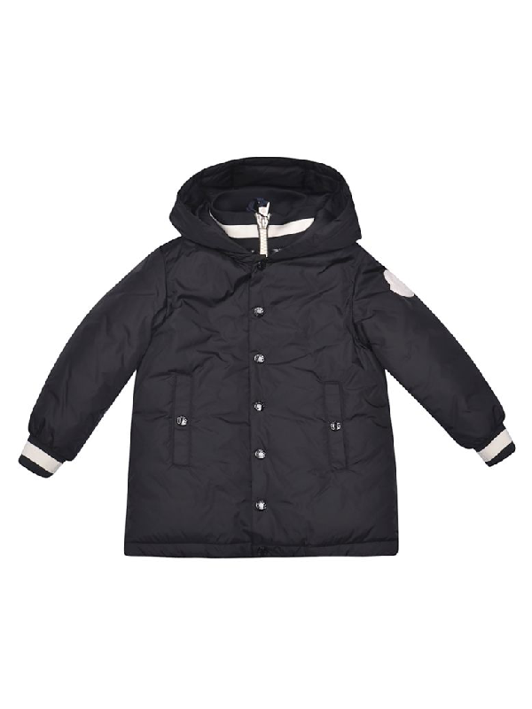 Moncler Kids' Thau Jacket In Black