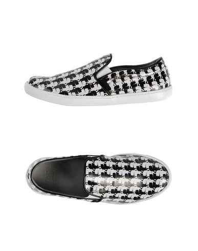 Karl Lagerfeld Karl-print Coated-canvas Slip-on Sneakers In White