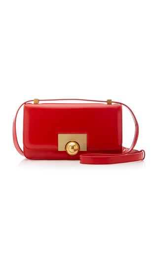 Bottega Veneta Bv Classic Small Leather Shoulder Bag In Red