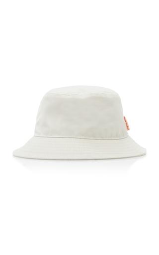 Acne Studios Brun Cotton-canvas Bucket Hat In Beige