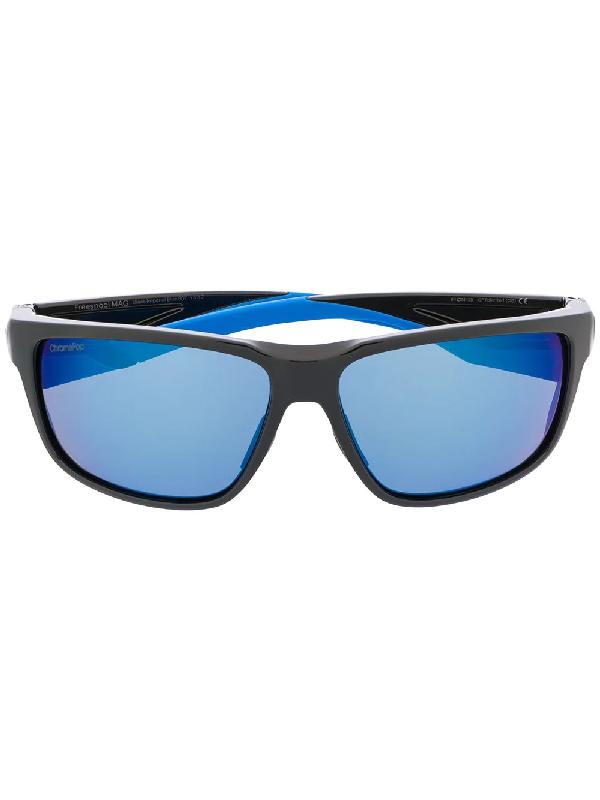 Smith Freespool Mag Squared Sunglasses In Black