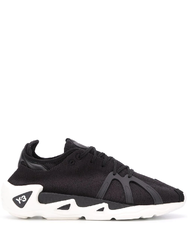 Y-3 Fyw S-97 Sneakers With Contrasting Sole In Black