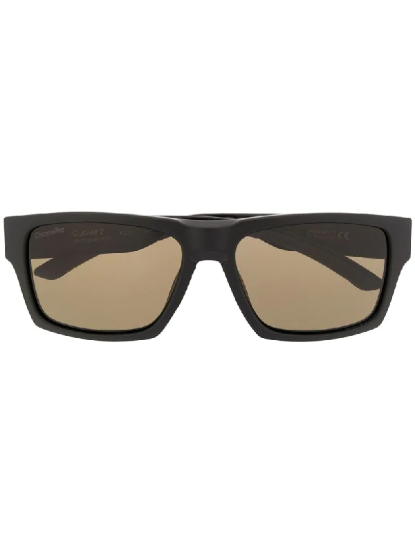 Smith Outlier2 Square Frame Sunglasses In Black