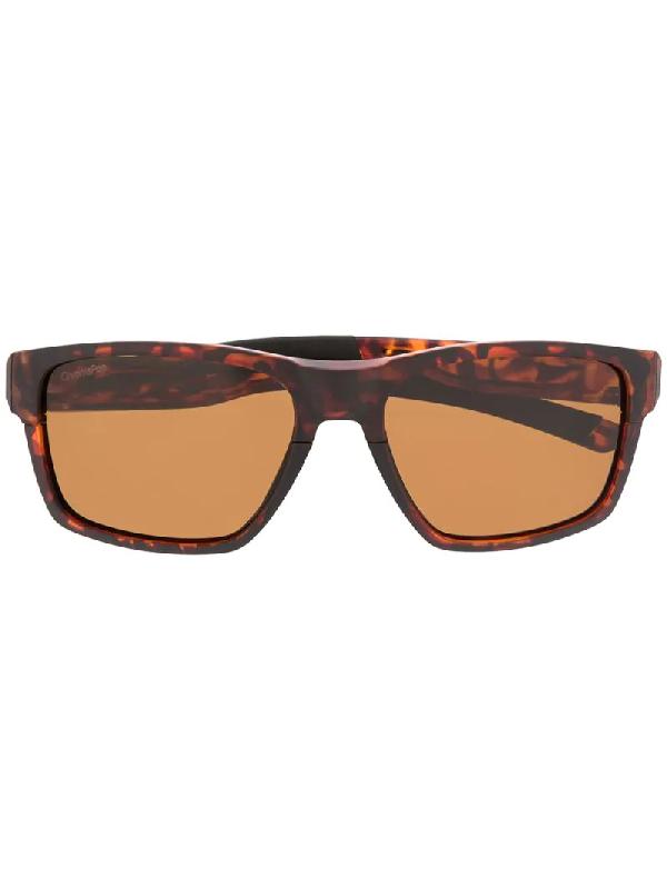 Smith Caravan Tortoiseshell Sunglasses In Brown