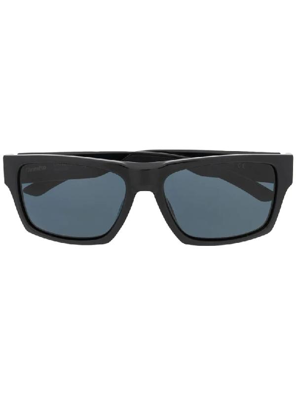 Smith Square Frame Sunglasses In Black