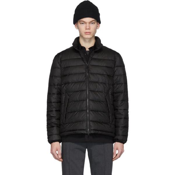 The Very Warm Black Liteloft Puffer Jacket