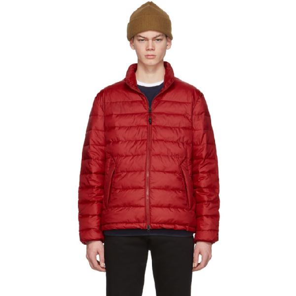 The Very Warm Red Liteloft Puffer Jacket