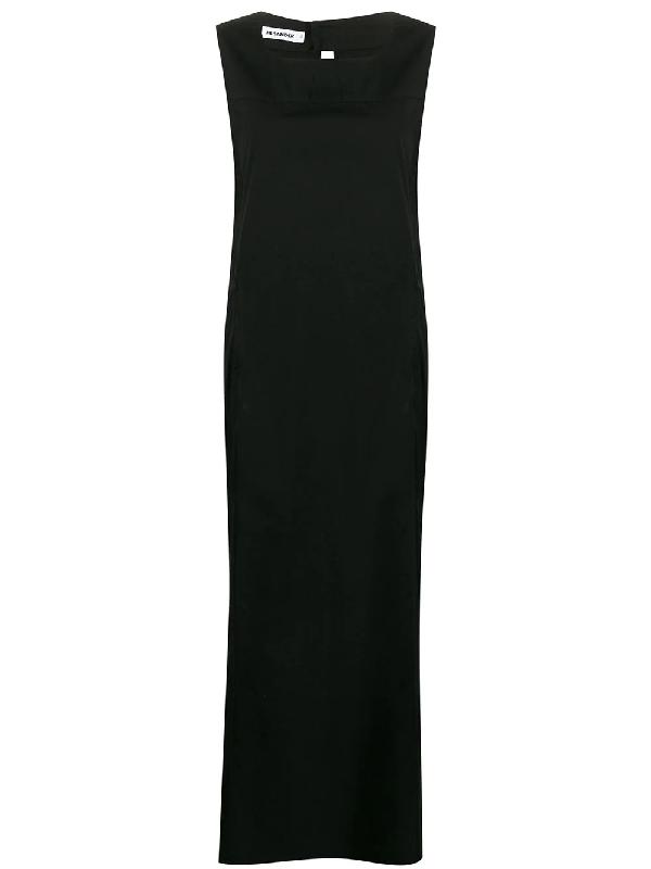 Jil Sander 1990s Maxi Dress In Black