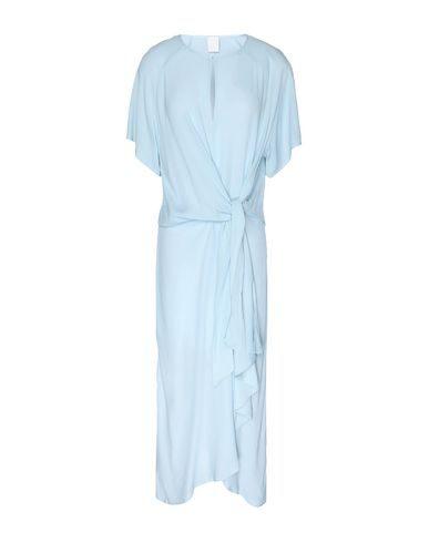 8 By Yoox Long Dress In Sky Blue