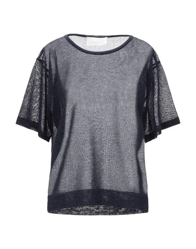 Chiara Bertani Sweater In Dark Blue