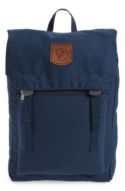 Fjall Raven Foldsack No.1 Water Resistant Backpack In Navy
