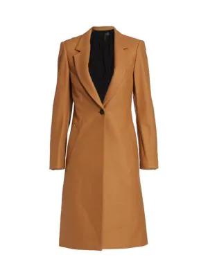 Rag & Bone Daine Wool-blend Coat In Camel