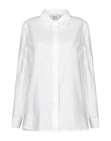 Hopper Striped Shirt In White