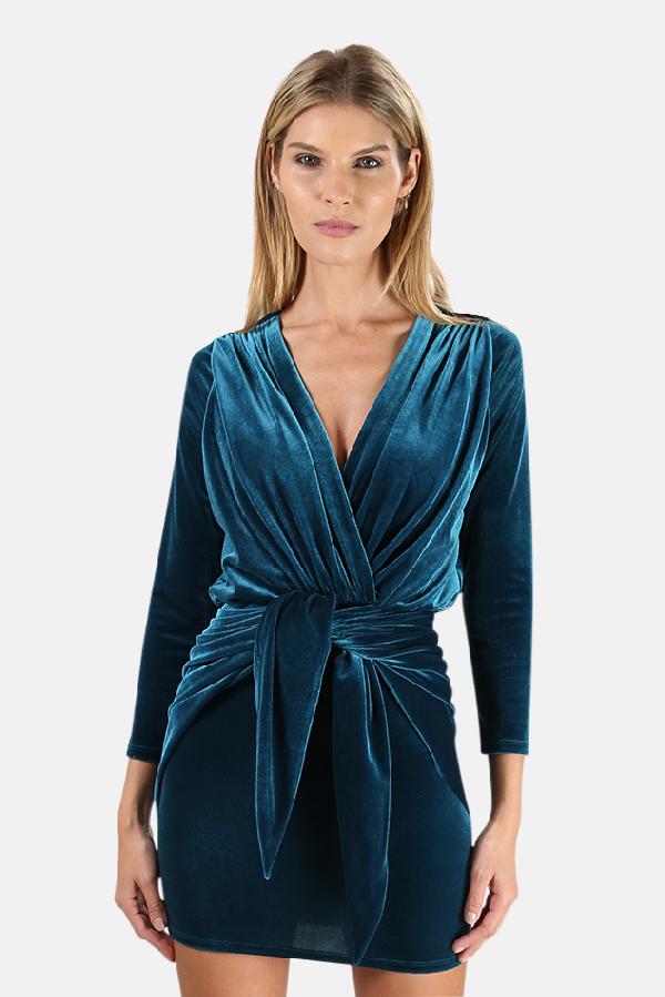 Misa Women's  Los Angeles Ophelie Dress In Teal
