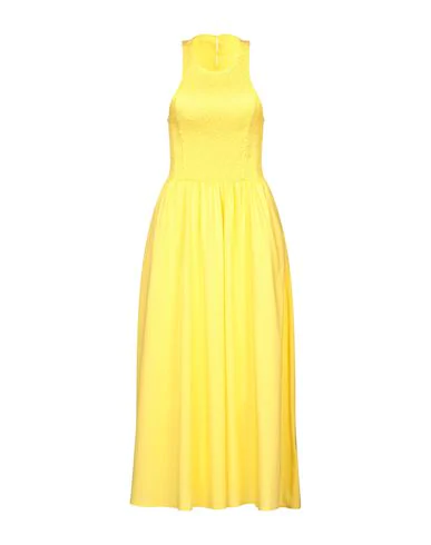 Hopper Midi Dress In Yellow