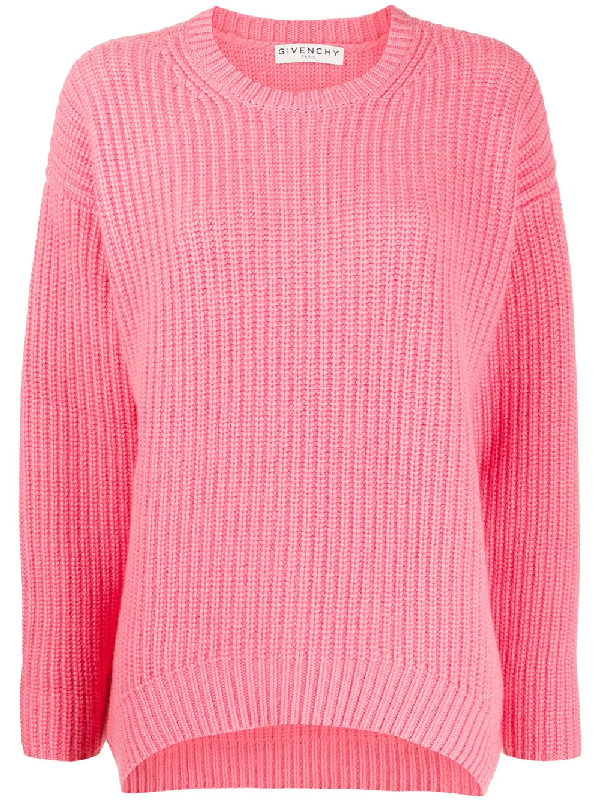 Givenchy Oversized Jumper In Pink