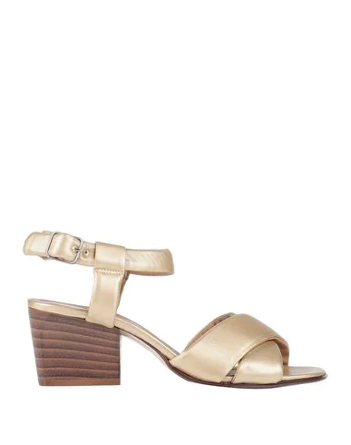 Pomme D'or Sandals In Gold