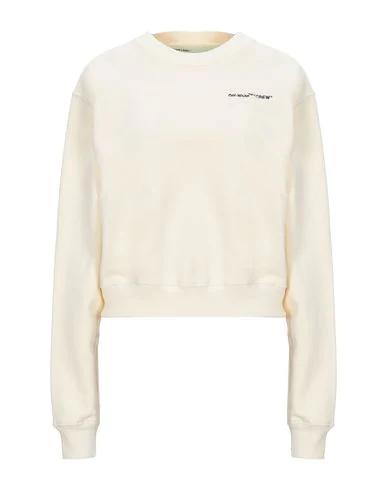 Off-white Sweatshirt In Ivory