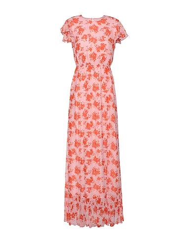 8 By Yoox Long Dress In Pink