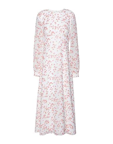 8 By Yoox Long Dress In White