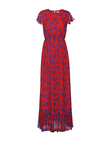 8 By Yoox Long Dress In Red