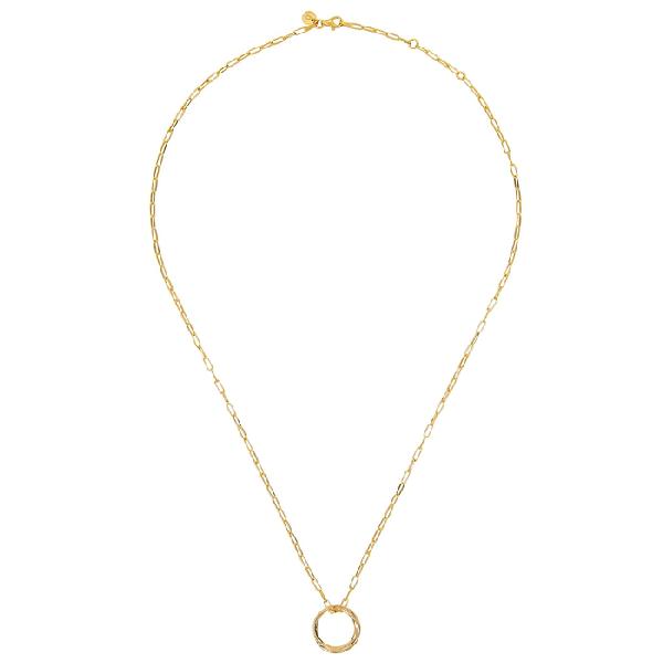 Daisy London X Estée Lalonde Unity 18kt Gold-plated Necklace